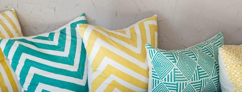 come decorare coi cuscini